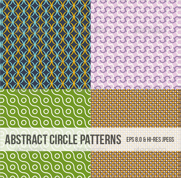 Clean Abstract Circle Patterns
