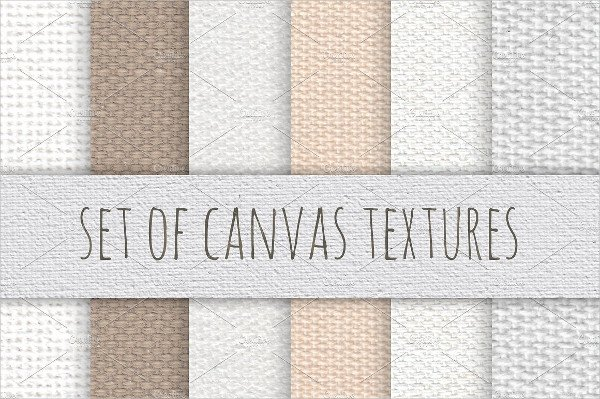 Real Canvas Textures Set