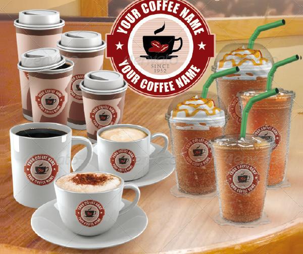 Popular Coffee Cup Mockup