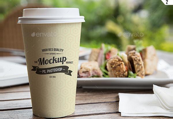 Coffee Cup Presentation Mockup