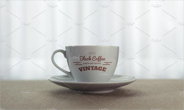 Vintage Coffee Cup Mockup