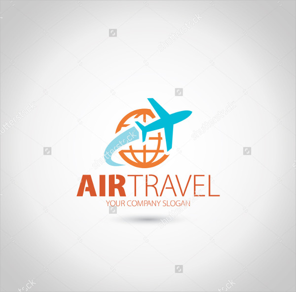 Clean Travel Concept Logo Template