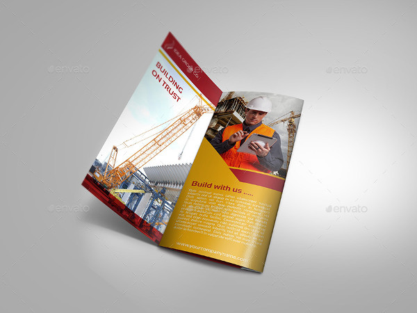 Construction Business Tri-Fold Brochure