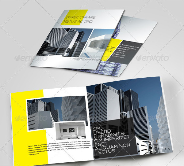 Minimal Brochure Template for Construction Companies