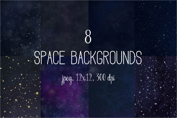 Cosmic Space Backgrounds