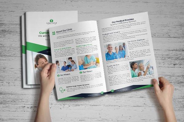 Creative Medical Health Care Brochure Template