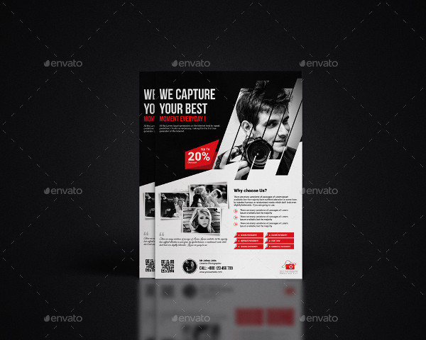 Custom Photography Studio Flyer Template