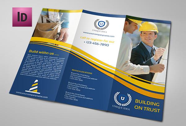 Clean Design Construction Company Brochure