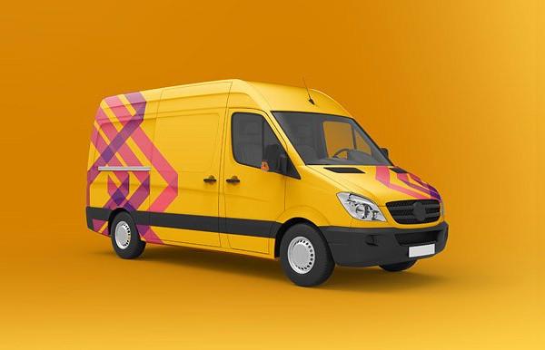 Designed Van Mock-Up