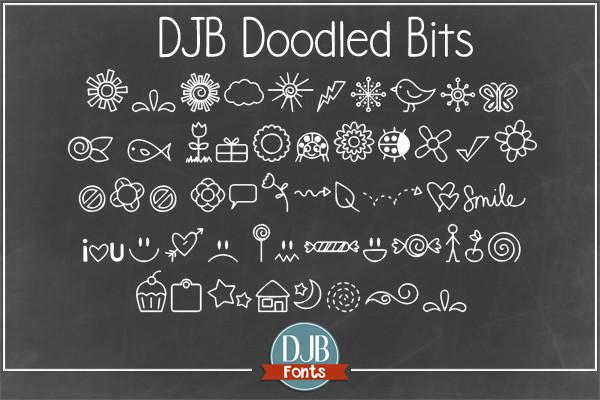Doodle Bits Font