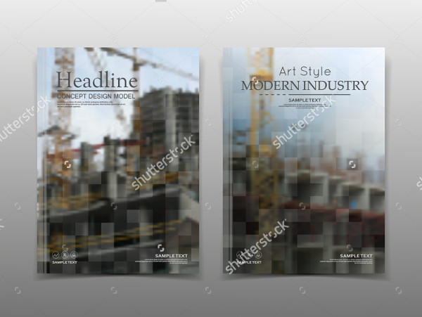 Editable Construction Brochure Template