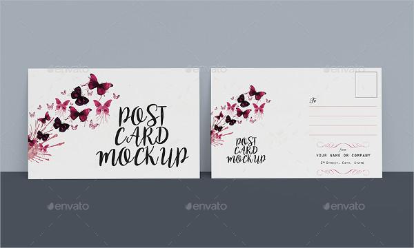 27 Postcard Mockup Templates Free Premium Download