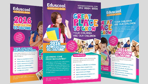 25 education flyer templates free premium download