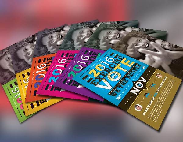 Exercise Your Vote Flyer Template
