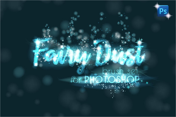 Fairy Dust Sparkle Star Brushes Set