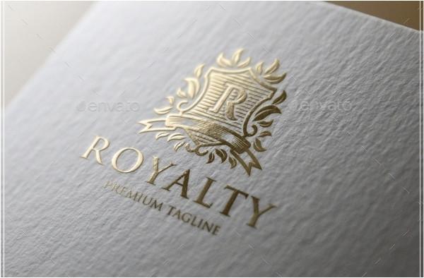 Fancy Royalty Logo Template