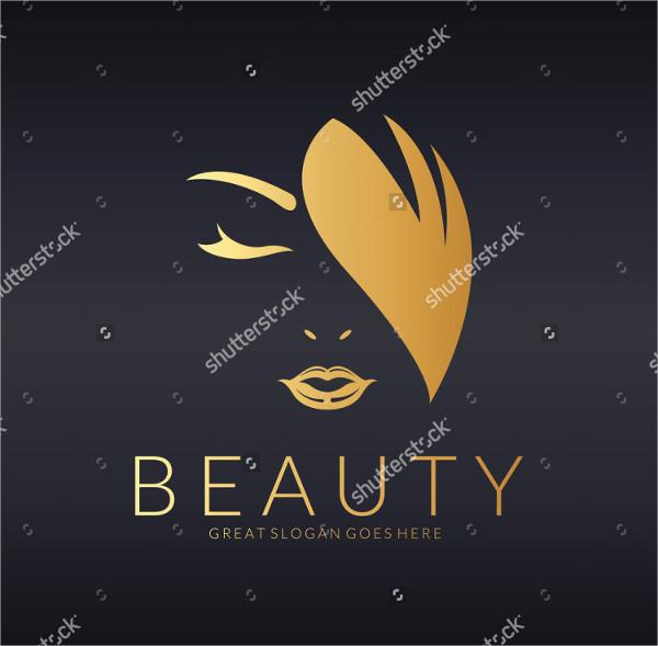 Luxury Fashion Beauty Logo Template
