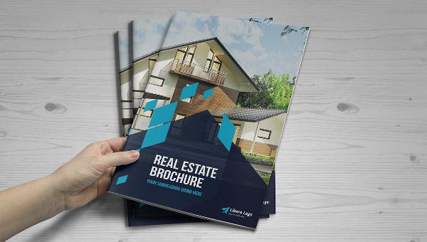 Luxury Real Estate Tri-Fold Brochure