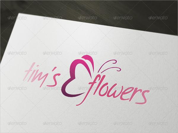 Impressive Florist Logo Template