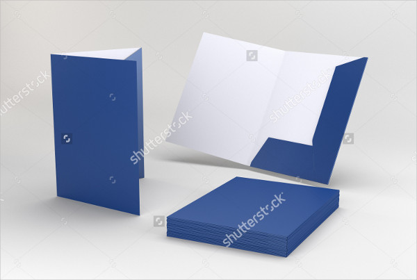 Folder Advertising Mock-Up