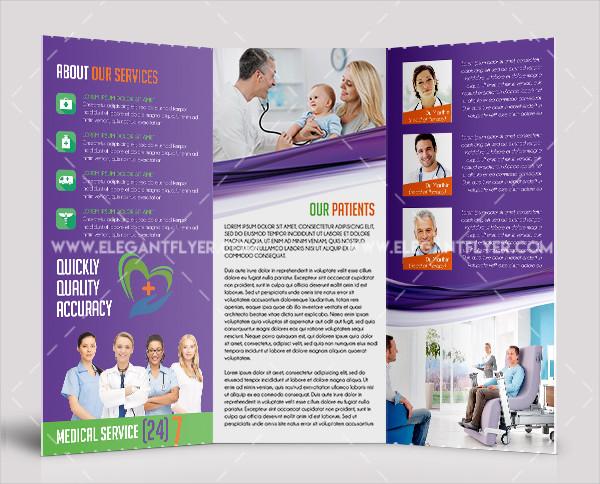 Free Medical Tri-Fold Brochure Template