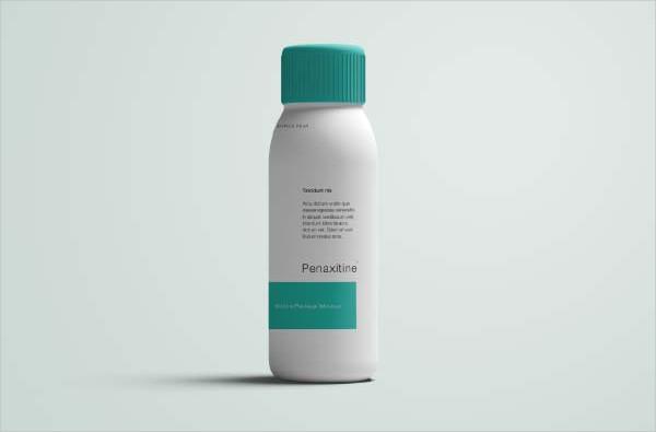 Free Medicine Bottle Mock-Up