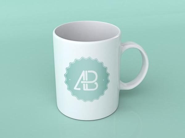 Free PSD Mockup of Coffee Cup