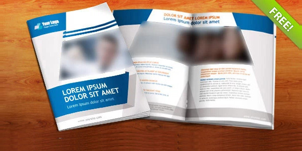 Free PSD Booklet Template