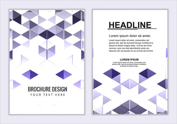 Free Vector Booklet Template