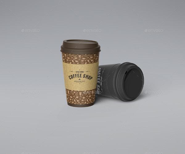 Best Selling Coffee Cup Mockup