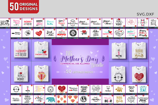 Fully Editable Mothers Day Bundle