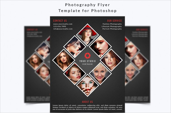 Fully Editable Photography Flyer Photoshop