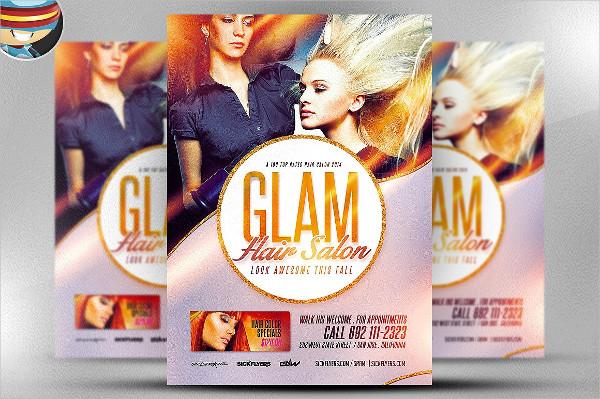 Fully Editable Salon Flyer Template