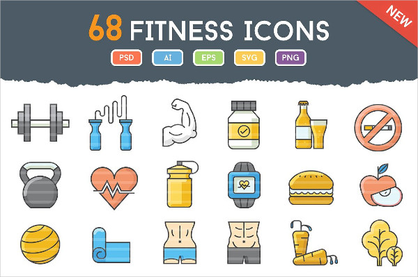 68 Funky Icon for Fitness