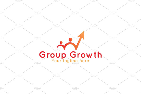 Group Growth Success Logo