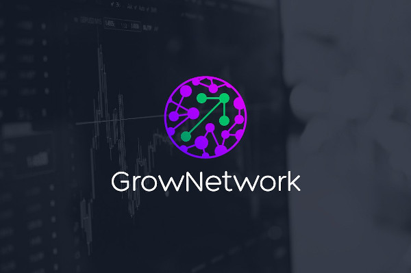 Grow Network Logo Template