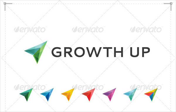Growth Up Logo Design