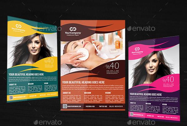 23 popular salon flyer templates free premium download