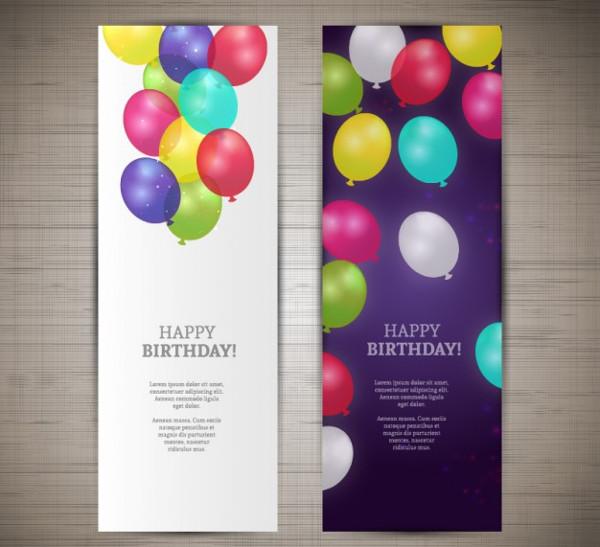 Happy Birthday Banners Free
