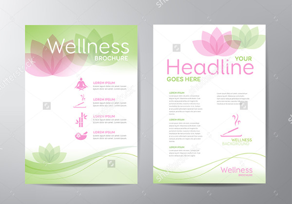 Wellness Brochure Template