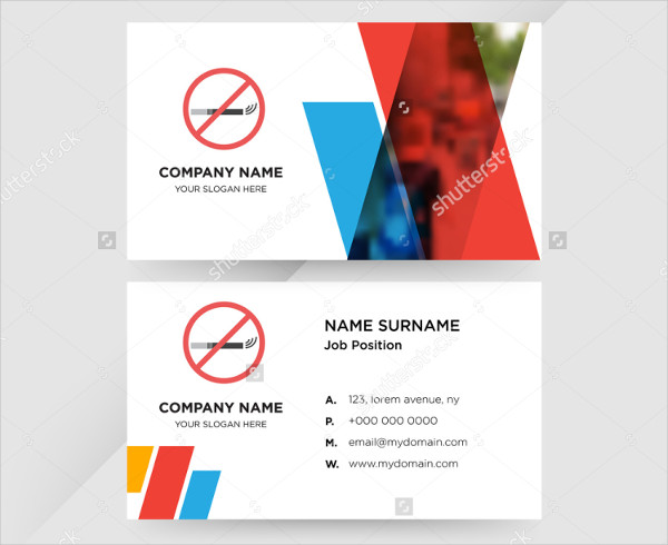 Health Care Services Business Card Template