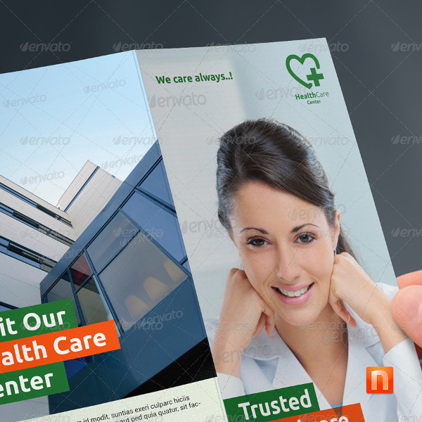 Helalth Care Center Trifold Brochure