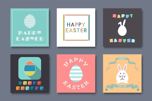 Holiday Greeting Easter Cards