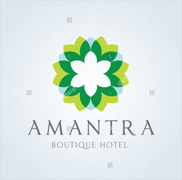 Boutique Hotel Logo Template