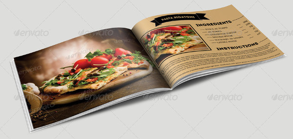 cookbook template 25 free psd ai eps vector format download
