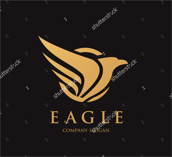 King Eagle Logo Template