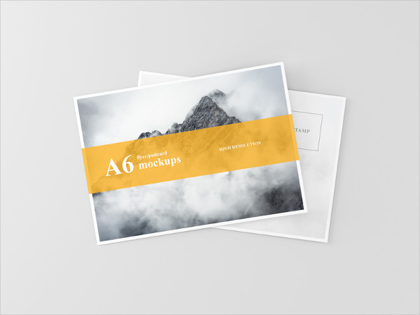 27 Postcard Mockup Templates Free Premium Download