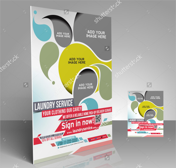 Laundry Services Presentation Flyer