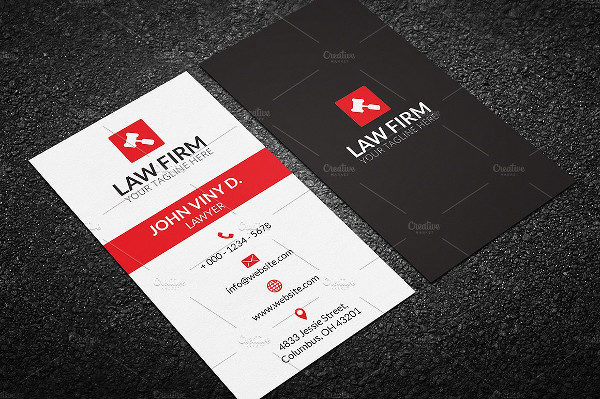 23 lawyer business card templates free premium download best law business card template wajeb Images