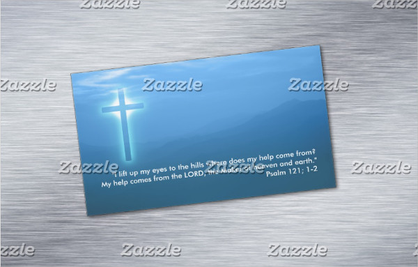 Magnet Business Card for Church